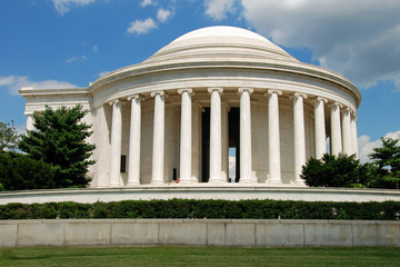 Fotomurales - Jefferson Memorial in Washington DC