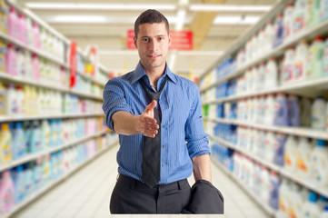 welcome to supermarket - benvenuti al supermercato