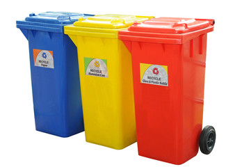 Colorful Recycle Bin Isolation