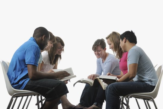 A Diverse Group Of Young Adult Christians