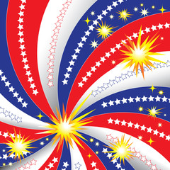 Stars, Stripes, Fireworks