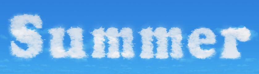 """""""Summer"""" make clouds"""