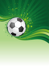 soccer sport design element