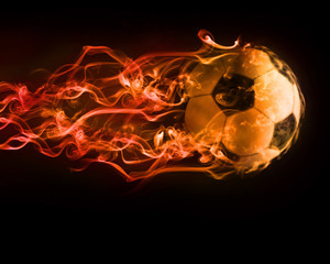 Obraz piłka - fototapety do salonu