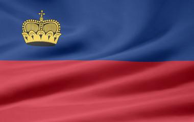 Flagge von Liechtenstein