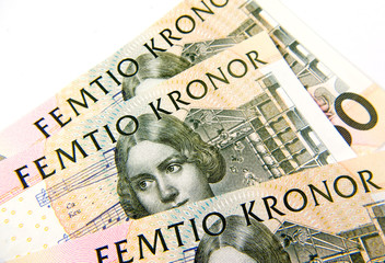 fifty swedish kroner SEK