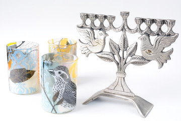 Bird Candle Holders