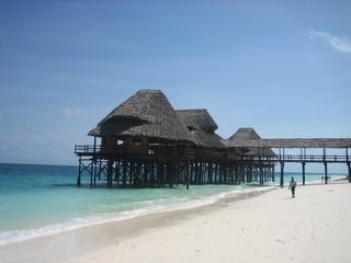 Strandhütte auf Sansibar