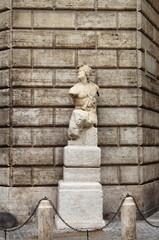 Pasquino statue in Rome