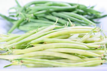 green beans upclose