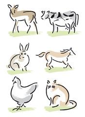 Tiere Bauernhof