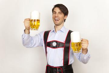 deutsches bier mann