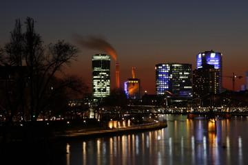 Nacht in Frankfurt