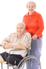 eldery couple