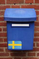 Schwedischer Briefkasten