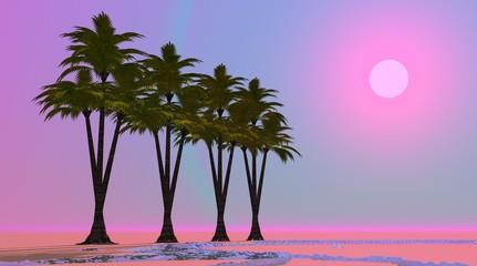 Violet oasis