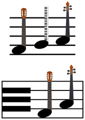 funny music notes