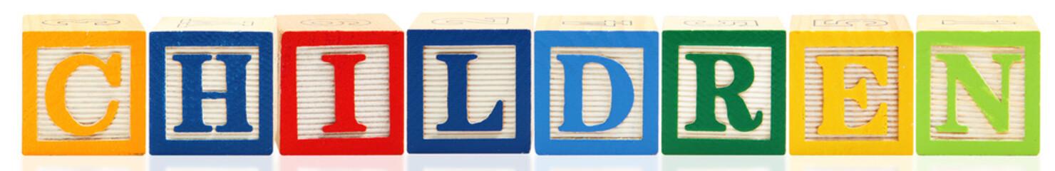 Alphabet Blocks CHILDREN