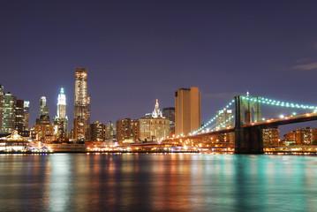 Wall Mural - Urban Manhattan New York City skyline