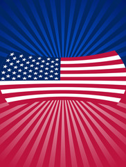 4th of July background Design