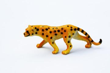 Plastic cheetah