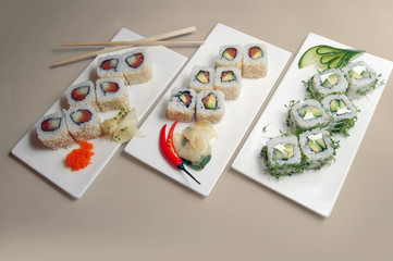 Sushi Menues