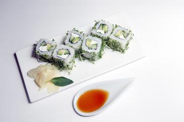 Sushi Inside-Out Maki