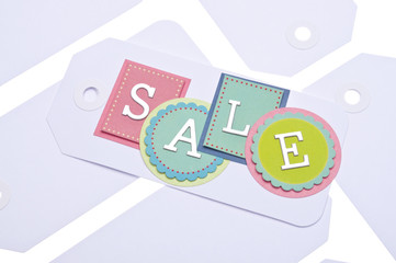 Sale Tag Background