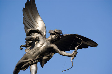 Eros, Picadilly Circus, London