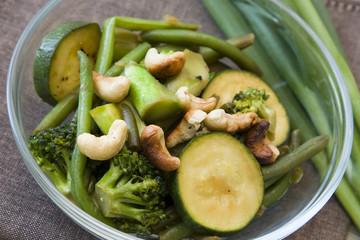 Wok Gemüse