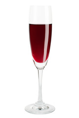 Red Wine in a Wineglass