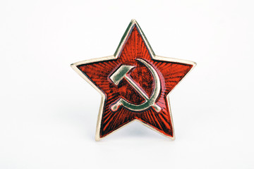 The Soviet army badge