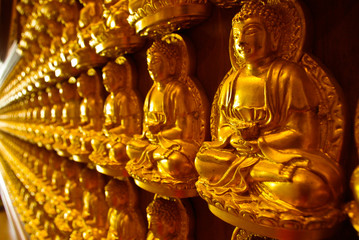 Image of Buddha on the wall