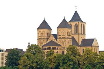 Fototapete - St. Kunibert, Basilika, Köln