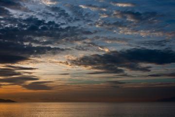 Sunrise at Nafplio