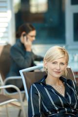 Portrait of businesswoman