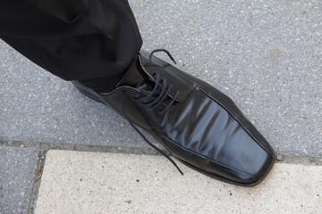 Offener Schuh