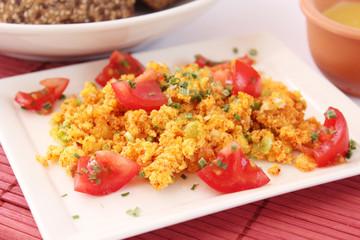 Polenta mit Tomaten