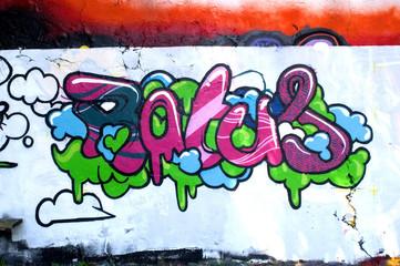 Tag mural