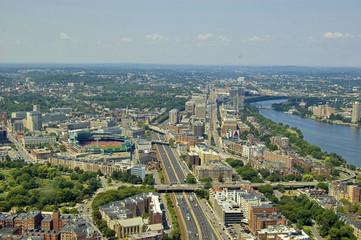 Boston panoramic view