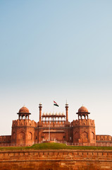 Printed kitchen splashbacks Delhi The Red Fort