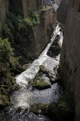 Wasserfall der Leuk in Saarburg