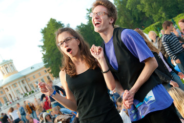 Open-air music festival