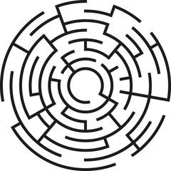 Labyrinth Kreis