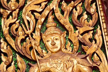 Thai Art in Thai Temple