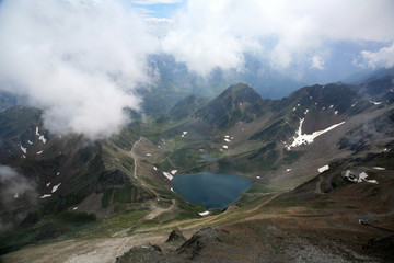 Lake in Pyrenees in France