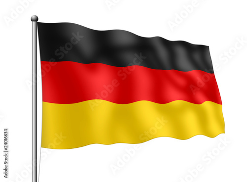 deutschland flagge stockfotos und lizenzfreie bilder auf. Black Bedroom Furniture Sets. Home Design Ideas