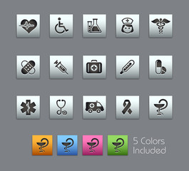 Medical / The EPS fileincludes 5 colors in different layers.