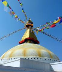 Bodnath Tempel in Kathmandu