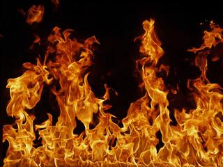 Staande foto Vlam Feuer Hintergrund